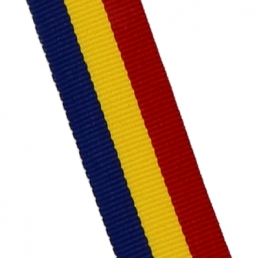 Șnur medalie R-Y-B