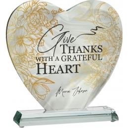 Trofeu sticlă inimă G031